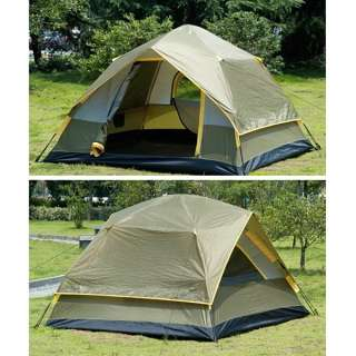 Coyote 3 4 Person Waterproof Camping Instant Tent Full Automatic Army