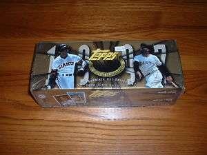 1997 Topps Complete Factory Sealed Baseball Set MINT