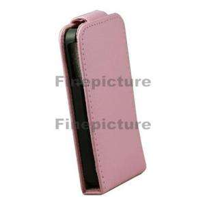1X Pink Leather Wallet Case Covers Pouch For iPhone 4S 4GS 4G