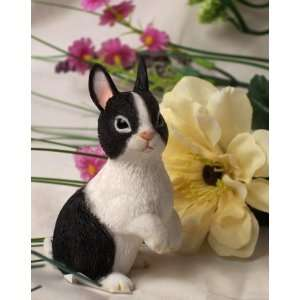 Black & White Bunny W/ Ears Up Everything Else
