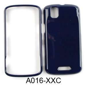 Motorola Droid Pro A957 Honey Navy Blue Hard Case/Cover/Faceplate/Snap