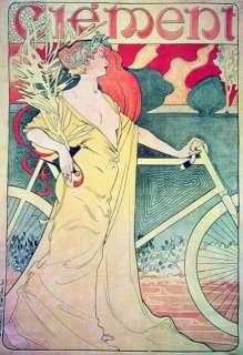 1895 Clement & Cie Original Vintage Safety Bicycle Antique Velo Ancien