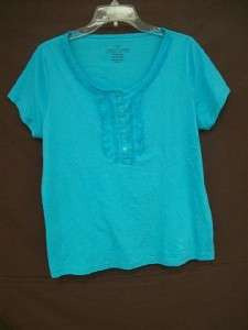LOT of 9 Womens Short Sleeve Daily Wear Shirts 2XL 18/20 EDDIE BAUER