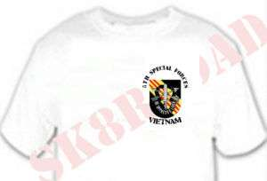 Shirt Army 5th Special Forces Group Vietnam Flash