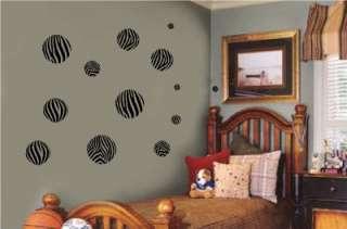 Print Dots Circles Wall Sticker Vinyl Decal Jungle Room Decor