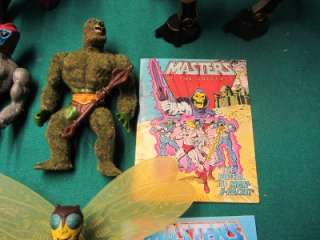 VINTAGE 80S HE MAN MOTU ACTION FIGURE LOT RARE DUKE SKELETOR PANTHOR