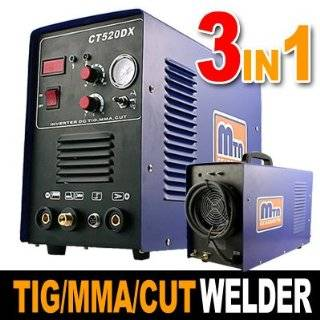 Industrial Grade 3 in 1 Inverter TIG / MMA Welder, AIR Plasma Cutter