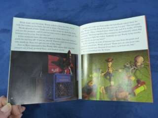 Disney Toy Story Read Along Book With Cassette Tape
