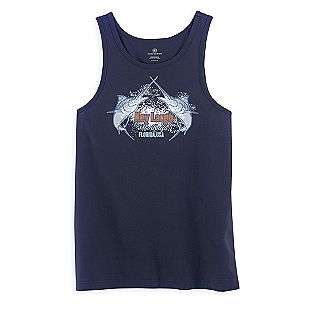 Screen Printed Tank Top  Covington Clothing Mens Swimwear