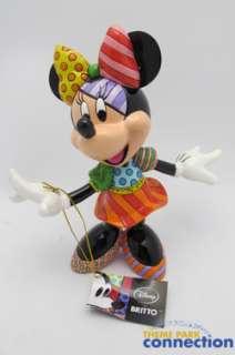 Disney Romero BRITTO Fine Art MINNIE MOUSE Stone Resin Figure Statue