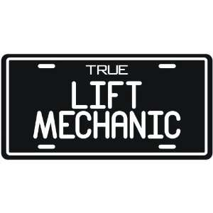 New  True Lift Mechanic  License Plate Occupations
