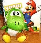 NEW NINTENDO SUPER MARIO green Yoshi plush 10cm PLUSH DOLL FREE