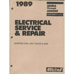 1989 Mitchell Electrical Service & Repair Imported Cars