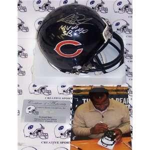Richard Dent Autographed/Hand Signed Bears Mini Helmet