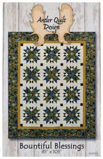 Antler Quilt Design Bountiful Blessings quilt pattern