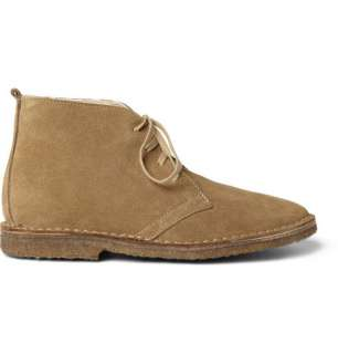 Boots  Lace up boots  Shearling Lined Suede Macalister Boots
