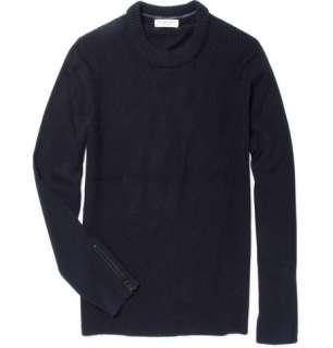 Knitwear  Crew necks  Toby Wool Blend Ribbed Sweater