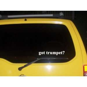 got trumpet? Funny decal sticker Brand New Everything