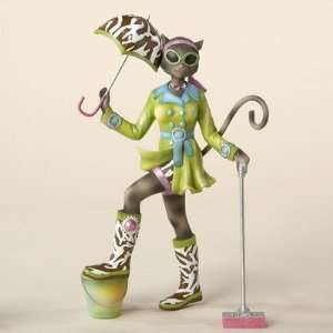 Alley Cats 8 Go Go Mopping Figurine By Margaret Le Van