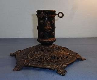 LA2/231 * CAST IRON CHRISTMAS TREE STAND ANTIQUE GERMAN 1880s