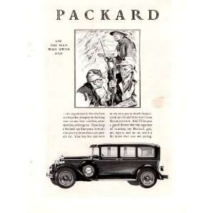 1928 Ad Packard Original Antique Car Print Ad: Everything