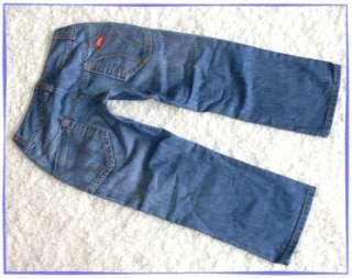 MISS SIXTY Jeans SNUFFLES Capri ♥SNUFFY♥ BLAU low 28 29