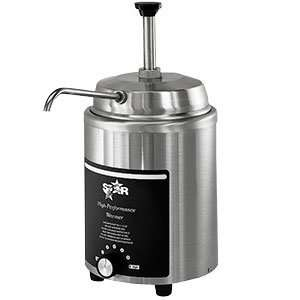 Star 4RW P 4 Qt. Stainless Steel Food Warmer with Pump