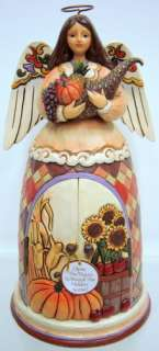 JIM SHORE Thankful Tradition Harvest ENESCO 4017593