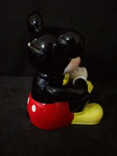 WALT DISNEY MICKEY MOUSE SITTING BANK #A4177