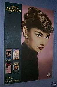 AUDREY HEPBURN Breakfast at Tiffanys Sabrina Funny Fac