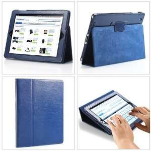 iPad 2, With Magnetic Sleep Wake Sensor Feature   Dark Blue