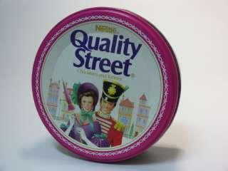 NESTLE QUALITY STREET TOFFEE TIN BAKELITE EMPTY BOX