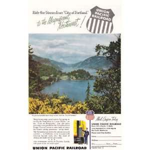Pacific Railroad Columbia River Gorge Union Pacific Railroad Books