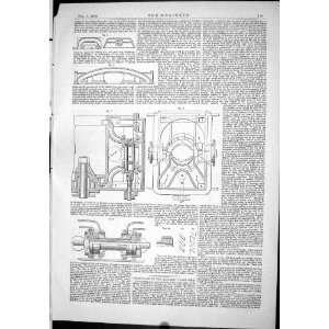 Engineering 1886 Machinery Diagrams Luke Patent Collar