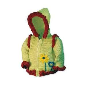 Brite Babies Daisy Hoodie Crochet Pattern Sizes 6 mo to 3