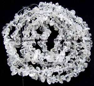 14mm Natural White Crystal Beautiful Chip Beads 35