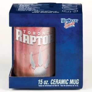 TORONTO RAPTORS 15OZ CERAMIC COFFEE MUG Sports & Outdoors