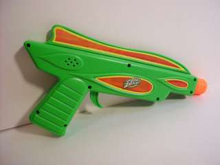 Air Zone Plastic toy gun that lights up & makes firing sound Battery