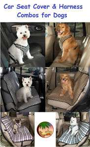SEAT COVER & CAR HARNESSES for DOGS