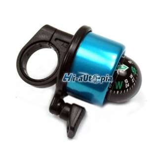 New Blue Compass Bicycle Bike Handlebar Bell Ring Horn