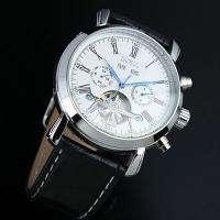 New Wrist Mens Auto Automatic Watch Date Tourbillon Mechanical