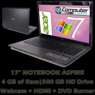 and Warranty Laptop Notebook Computer; HDMI; WiFi; 884483718153