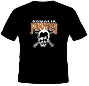 Wiz Khalifa Somalia Pirates Rap T Shirt