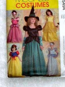 Mc Calls Snow White/Witch/Princess COSTUMES PATTERN