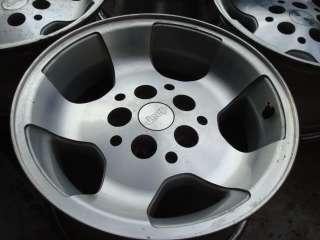 Wrangler TJ YJ factory OE OEM alloy Canyon wheels rims 15 (set of 4