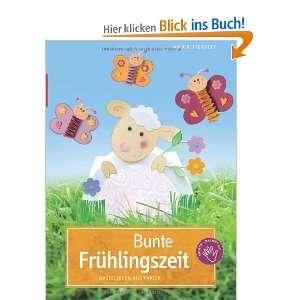 Bunte Frühlingszeit: Bastelideen aus Papier: .de: Anja