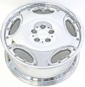 19 LORINSER LM1 WHEELS RIMS MERCEDES BENZ CHROME
