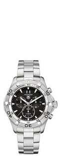 TAG HEUER CAF101ABA0821 Aquaracer quartz chronograph watch