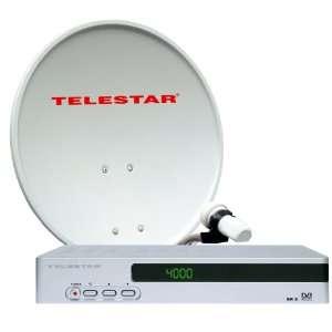 Telestar Astra Digital 1 Teilnehmer Sat Paket mit 55cm Sat Spiegel