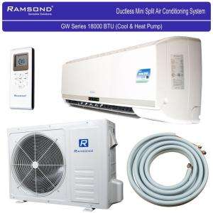 Ramsond 18,000 BTU 1.5 Ton Ductless Mini Split Air Conditioner & Heat